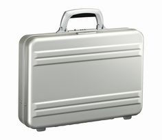 Slimline 3 Inch Aluminium Attache Silver