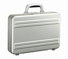 3 Inch Small Attache Classic case Silver